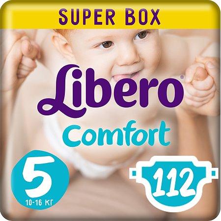 Подгузники Libero Comfort 5 10-16кг 112шт