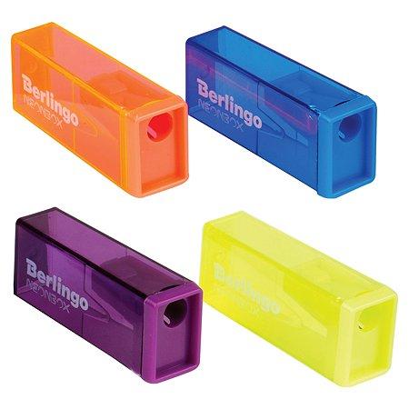 Точилка BERLINGO NeonBox в ассортименте BBp_15008