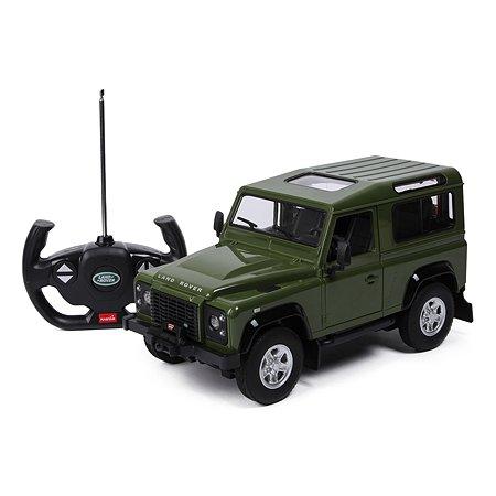 Машина Rastar РУ 1:14 Land Rover Denfender Зеленый 78400