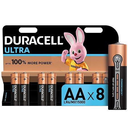 Батарейки Duracell UltraPower AA 8шт 5004807