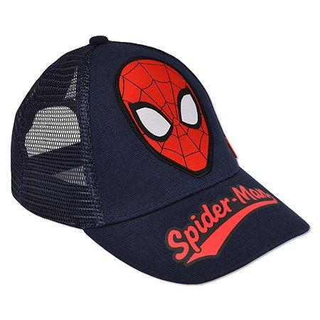 Кепка Spider-man тёмно-синяя