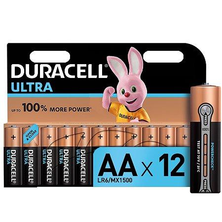 Батарейки Duracell Ultra AAA/LR03 12шт