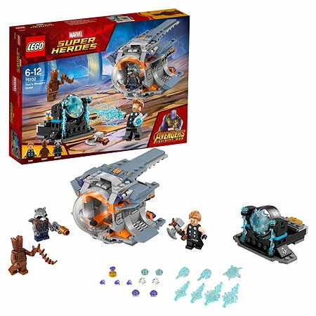 Конструктор LEGO Super Heroes В поисках оружия Тора 76102