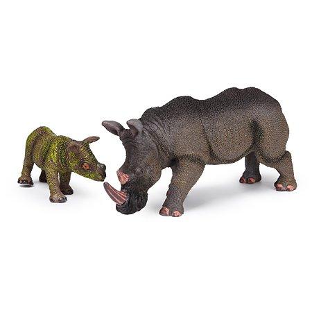 Набор фигурок Attivio Носороги 2 шт YS160354