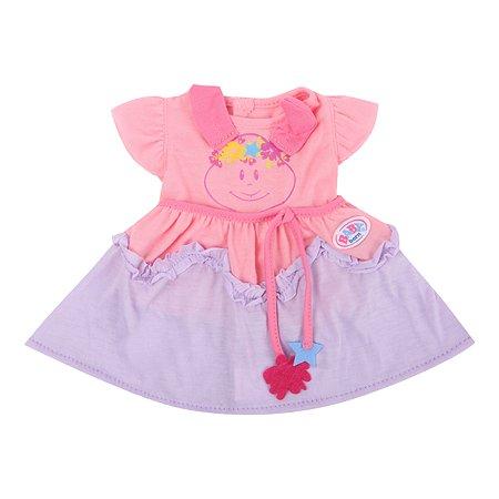 Платье для куклы Zapf Creation Baby Born Смайл 824-559