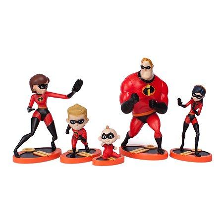 Набор фигурок The Incredibles 2 5 шт 76618