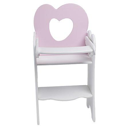 Мебель для кукол PAREMO Стульчик Нежно-розовый PFD120-29