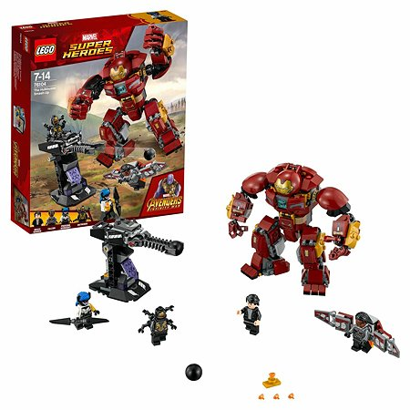 Конструктор LEGO Super Heroes Бой Халкбастера 76104