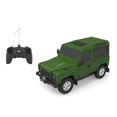 Машина Rastar РУ 1:24 Land Rover Defender Зеленая 78500