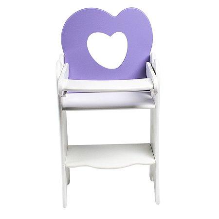 Мебель для кукол PAREMO Стульчик Нежно-сиреневый PFD120-30