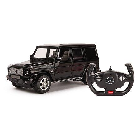 Машина Rastar РУ 1:14 Mercedes-Benz G55 Черная 30400