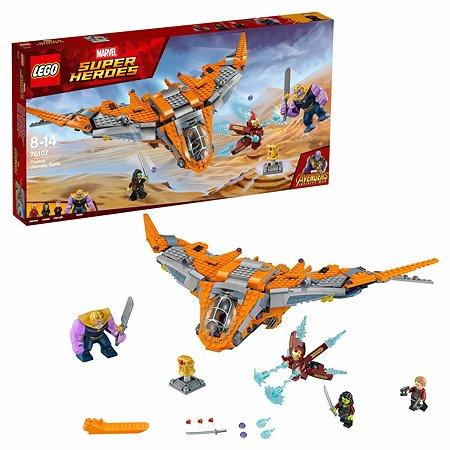 Конструктор LEGO Super Heroes Танос последняя битва 76107