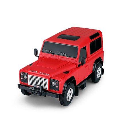 Машина Rastar РУ 1:24 Land Rover Defender Красная 78500