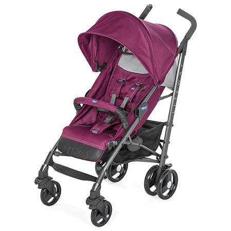 Коляска Chicco Lite Way3 Red Plum