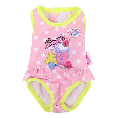 Костюм для куклы Zapf Creation Baby Born для плавания Уточка 824-580