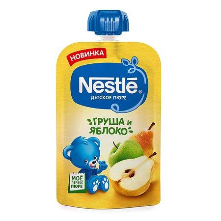 Пюре Nestle груша-яблоко 90г с 5месяцев