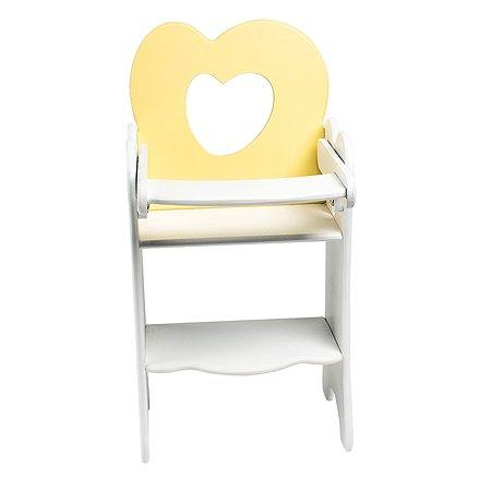 Мебель для кукол PAREMO Стульчик Нежно-желтый PFD120-31