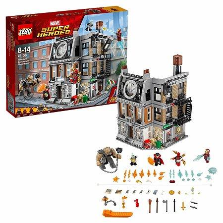 Конструктор LEGO Super Heroes Решающий бой в Санктум Санкторум 76108