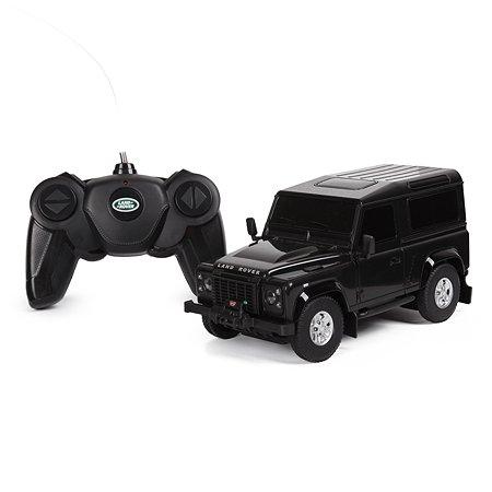 Машина Rastar РУ 1:24 Land Rover Defender Черная 78500