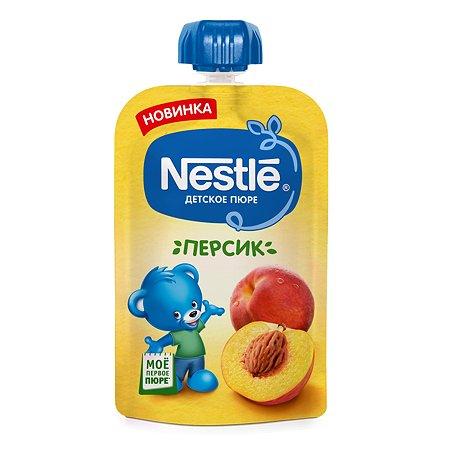 Пюре Nestle персик 90г с 4месяцев