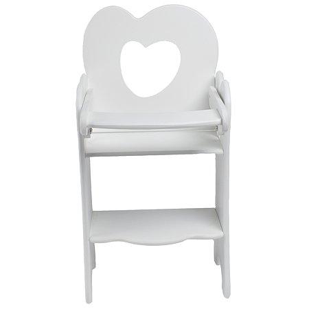 Мебель для кукол PAREMO Стульчик Белый PFD120-32