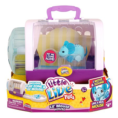 Мышка с домиком Little Live Pets Чудо Джунглей