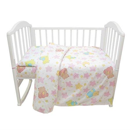Комплект белья Baby Nice розовый
