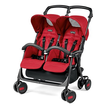 Прогулочная коляска Peg-Perego Aria Shopper Twin Red