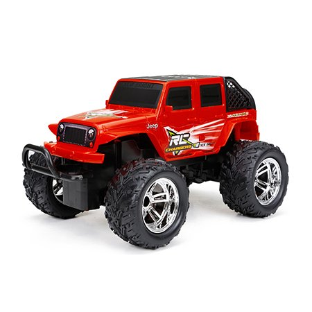 Машинка р/у New Bright 1:18 JEEP OPEN BACK USB