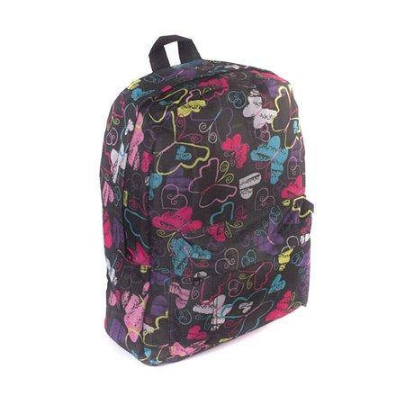 Рюкзак 3D-Bags Радужные бабочки (мульти)