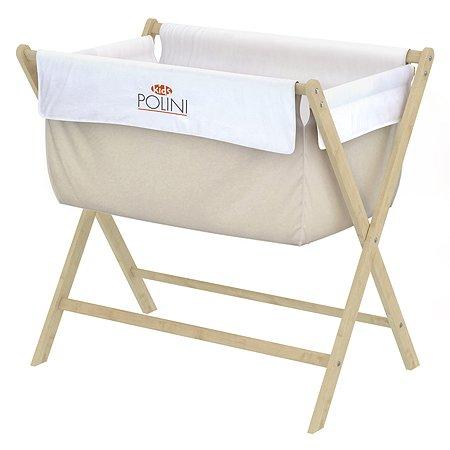 Кровать-колыбель Polini kids Бежевый