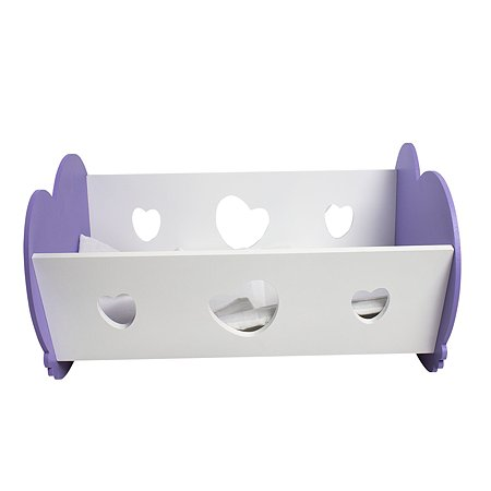 Мебель для кукол PAREMO Кроватка-люлька Нежно-сиренивый PFD120-34