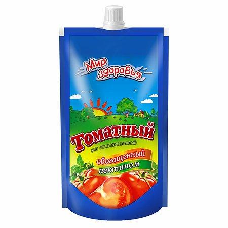 Сок Мир здоровья с пектином томатный 200мл