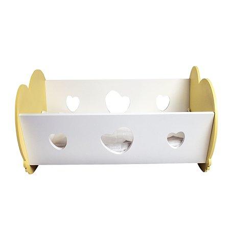 Мебель для кукол PAREMO Кроватка-люлька Нежно-желтый PFD120-35