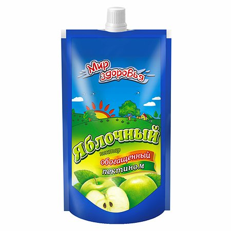 Нектар Мир здоровья с пектином яблочный 200мл