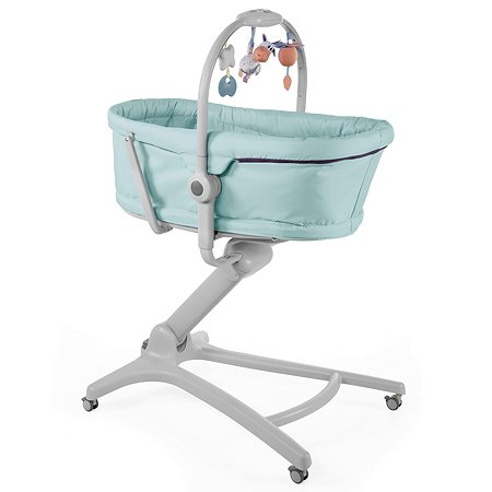 Кроватка-стульчик Chicco Baby Hug 4в1 Aquarelle