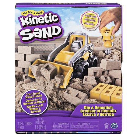 Набор для лепки Kinetic Sand Экскаватор 6044178