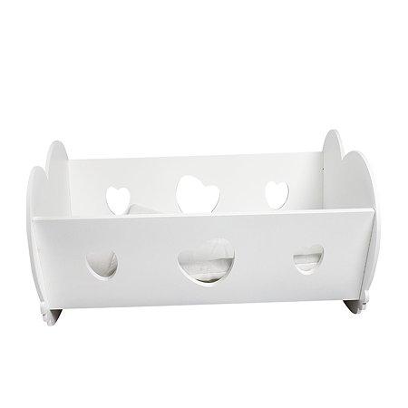 Мебель для кукол PAREMO Кроватка-люлька Белый PFD120-36
