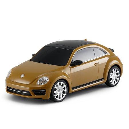 Машина Rastar РУ 1:24 Volkswagen Beetle Желтая 76200