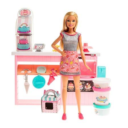 Набор игровой Barbie Кондитерский магазин GFP59