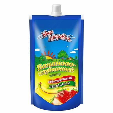 Нектар Мир здоровья с пектином бананово-клубничный 200мл