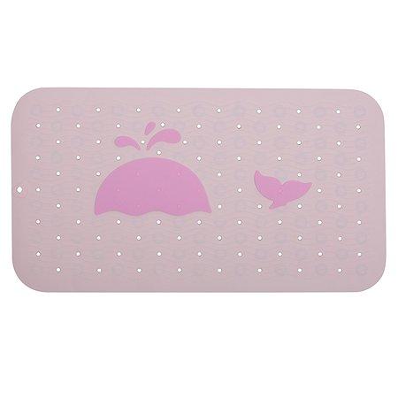 Коврик для ванной Stefan для мытья животных противоскользящий светло-розовый Stefan