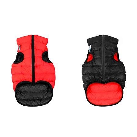 Курточка для собак Airyvest двусторонняя L 55 Красная-Черная
