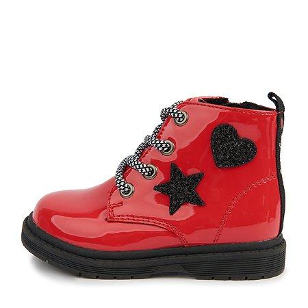 Ботинки BabyGo красные