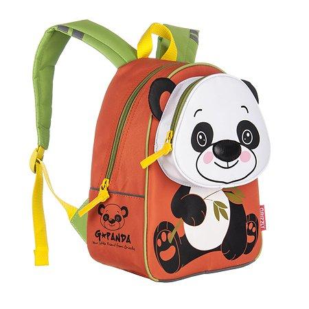 Рюкзак Grizzly Панда (оранжевый)