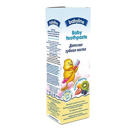 Зубная паста Babyline Тутти-Фрутти 2-6 лет 75 мл