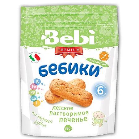 Печенье Bebi Бебики детское растворимое без глютена (с 6 мес.) 180 г