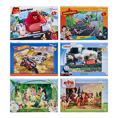 Пазл Step Puzzle лицензионные 60элементов в ассортименте 81109-81178