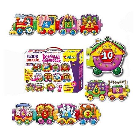 Пазлы Toys Union Веселый паровозик