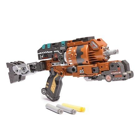 Пистолет-робот 2в1 Devik Toys MegaPower 10 патронов